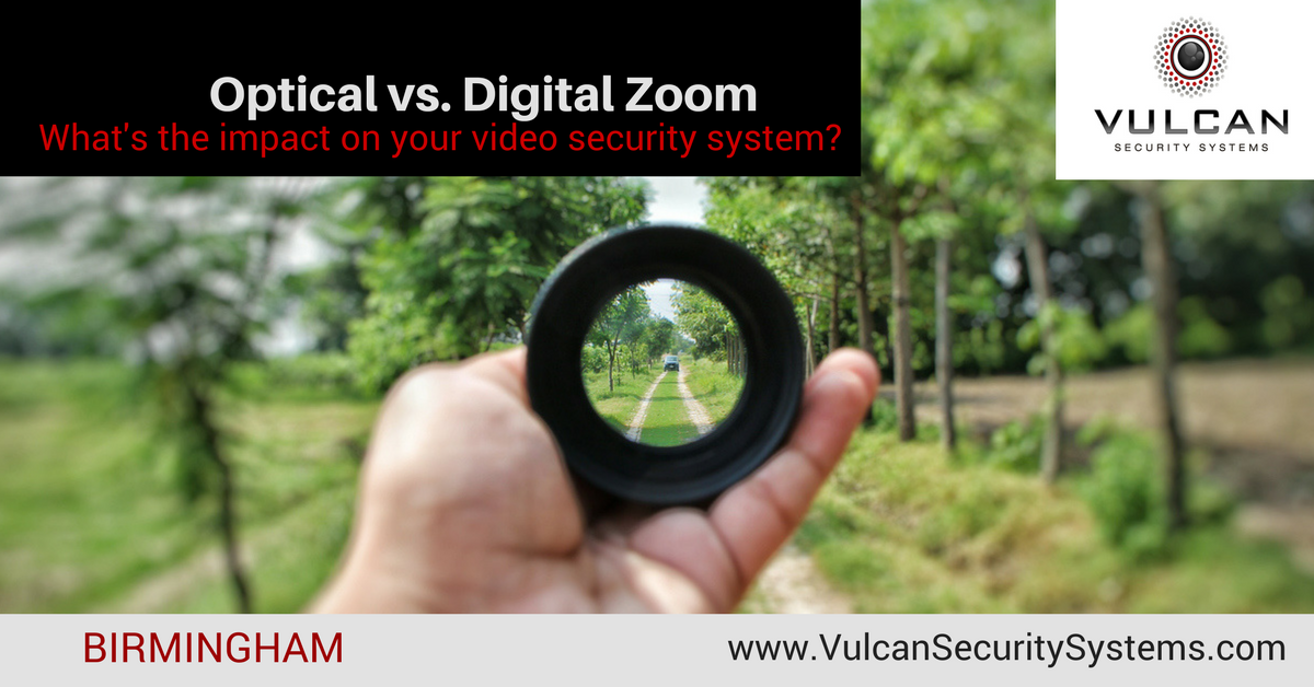 Digital Vs Optical Zoom For Security Cameras Vulcan